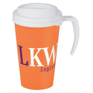 Americano Grande Thermal Mug Orange
