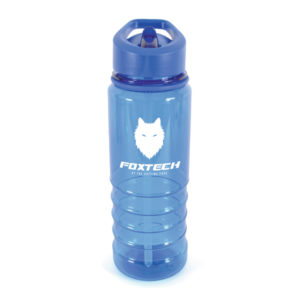 Aqueous Coloured Drinks Bottle - Blue