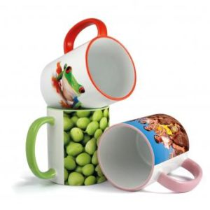 Duraglaze Rim & Handle Photo Mugs