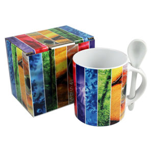 Printed Mug Packaging - Full Colour Mug Presentation Box