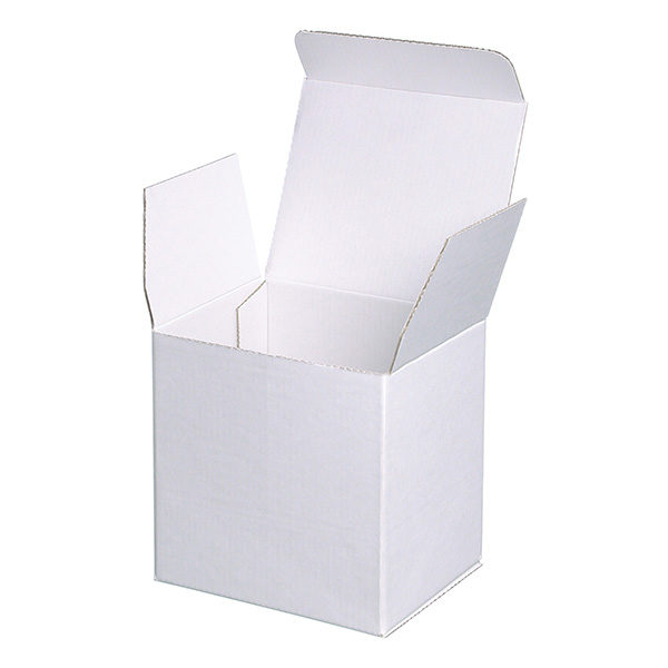 Single White Mug Mailing Carton