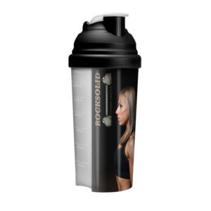 Shakermaker Full Colour Printed Protein Shaker - Black