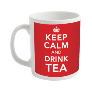 Keep Calm and Drink Tea Mugs - Coronavirus Mugs