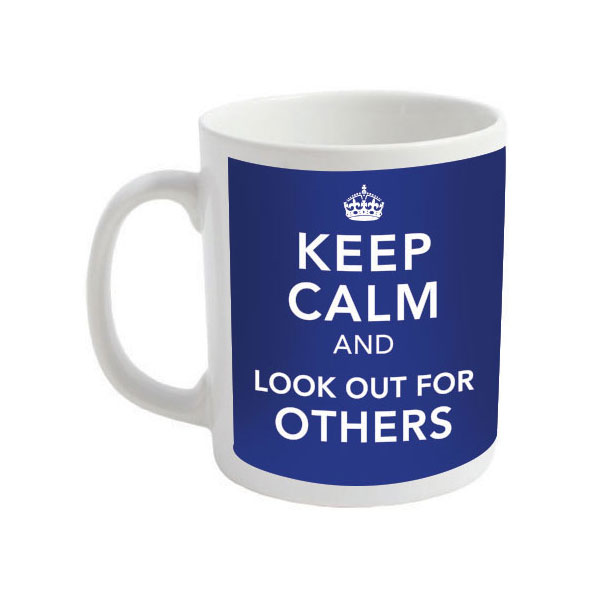 Keep Calm and Look Out for Others Mugs - Coronavirus Mugs