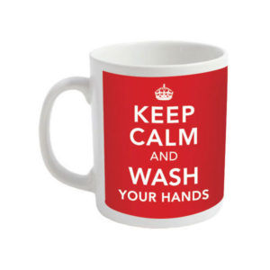 Keep Calm and Wash Your Hands mug - Coronavirus Mugs