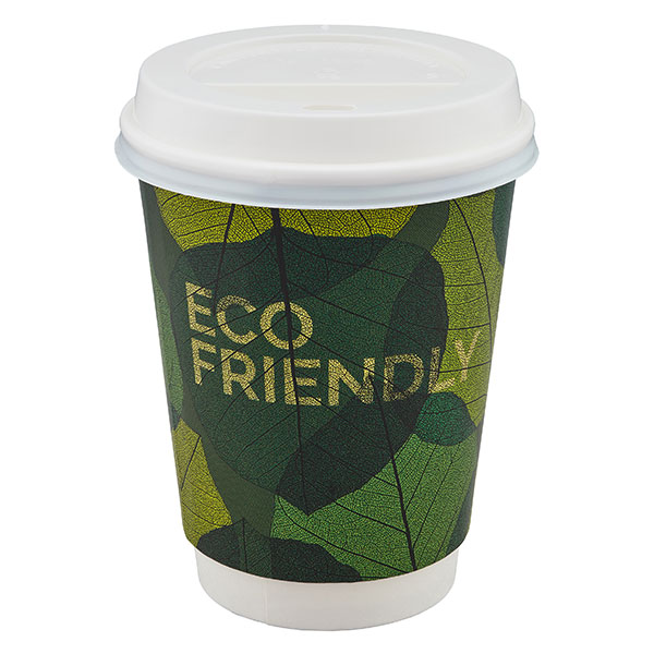 Mug made from sustainable paper with can be composted with food waste